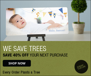 Paper Culture Plants a Tree with Every Order - Save 40%